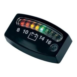 Kuryakyn LED 12 Volt Battery Gauge