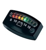 Kuryakyn LED 12 Volt Battery Gauge