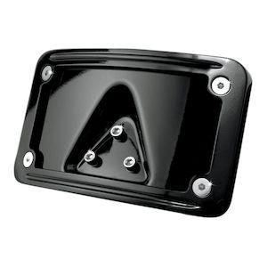 Kuryakyn Curved Laydown License Plate Frame Mount For Harley
