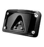 Kuryakyn Curved Laydown License Plate Frame Mount For Harley