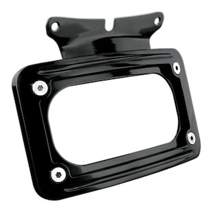 Kuryakyn Curved License Plate Frame Mount For Harley 2006-2013