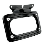 Kuryakyn Curved License Plate Frame Mount For Harley