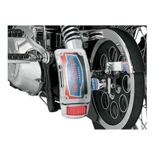Kuryakyn Curved Side-Mount License Plate Holder For Harley