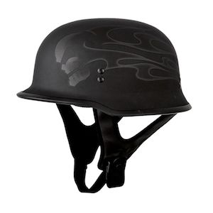 Fly Racing Street 9mm Ghost Skull Helmet