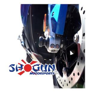 Shogun Front Axle Sliders Ducati 848 / 1098 / 1198