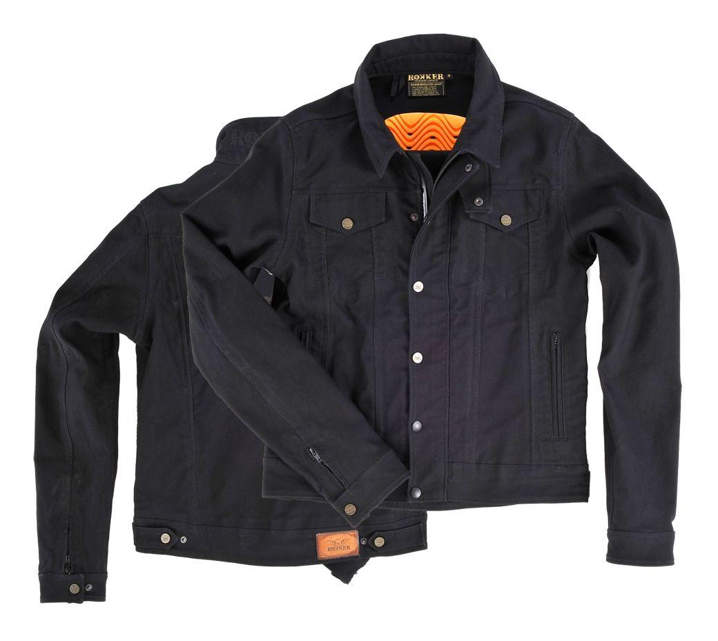 Rokker Black Jacket - RevZilla