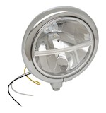 "Drag Specialties 5 3/4"" LED Headlight Assembly For Harley"