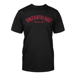 Speed and Strength Bikes Are In My Blood T-Shirt - (Size LG Only)