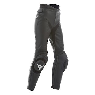 Dainese Women's SF Non-Perforated Leather Pants (Size 42 Only)