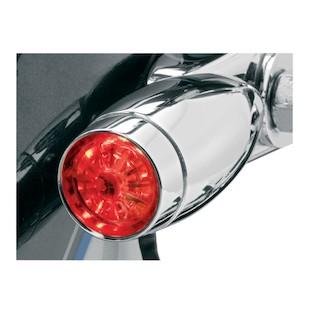 Kuryakyn LED Strut Mount Mini Bullet Marker Lights For Harley 1984-2010
