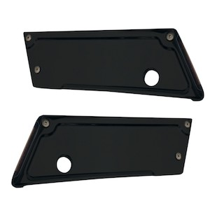 Alloy Art Lighted Latch Covers For Harley Touring 1993-2013