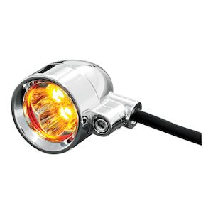 Kuryakyn Universal Super Bright LED Silver Bullet Marker Lights