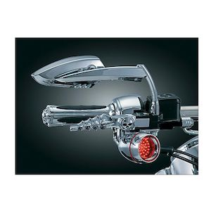 Kuryakyn Scythe Blade Mirrors For Harley