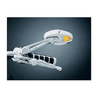 Kuryakyn LED Turn Signal Mirrors For Harley