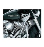 Kuryakyn Chrome Neck Cover Kit For Harley Touring 1995-2007