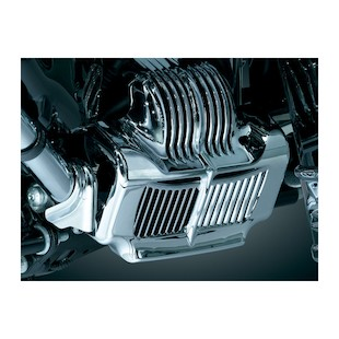Kuryakyn Oil Cooler Cover For Harley Touring 2011-2014