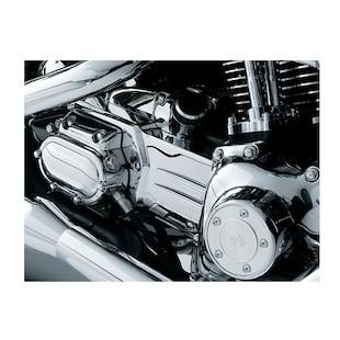 Kuryakyn Transmission Shroud Oil Line Cover For Harley Dyna 1999-2005