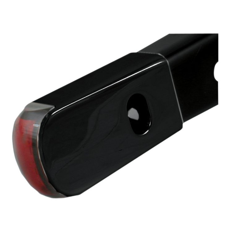 Black Anodized Body/Red LED/Red Lens