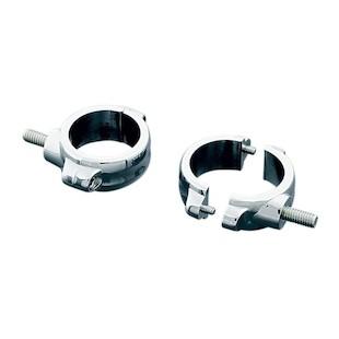 Kuryakyn 2-Piece Universal Fork Clamp Mounting Brackets