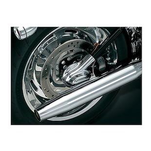 Kuryakyn Phantom Axle Covers For Harley Softail 2008-2014