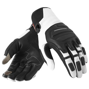 REV'IT! Neutron Gloves Black/White / MD [Blemished]
