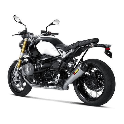 akrapovic slip on exhaust bmw r nine t 2014 2016 revzilla. Black Bedroom Furniture Sets. Home Design Ideas