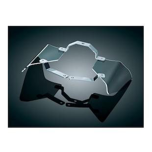 Kuryakyn Saddle Shield Heat Deflectors For Harley Softail 2000-2015