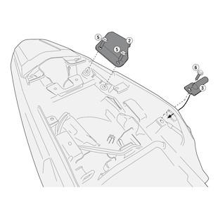 Givi 1121KIT Sidecase Kit CB500X 2013-2014