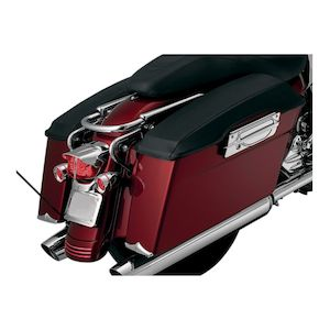 Kuryakyn Saddlebag Lid Covers For Harley Touring 1993-2013