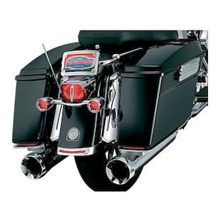 Kuryakyn LED Lighted Lower Saddlebag Accents For Harley Touring 1997-2013