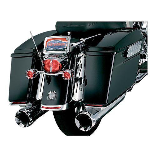 Chrome Lower Saddlebag Trim Moldings Fits Honda Goldwing GL1800 2001-2011 Motorcycle Accessories Motorbike Part