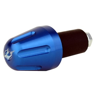 Driven Racing V1 Bar End Weights Blue [Previously Installed]