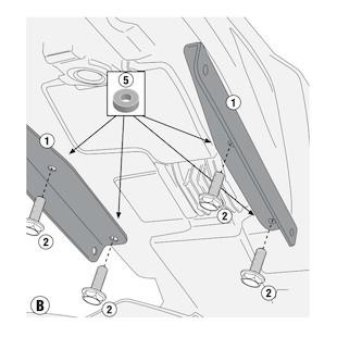 Givi 2115KIT Sidecase Kit Yamaha FZ-09 2014