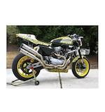 TechSpec Snake Skin Tank Pads Harley Davidson XR1200/R 2008-2012