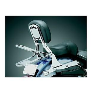 Kuryakyn Fold-Down Sissy Bar Luggage Rack For Harley 1984-2017