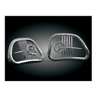 Kuryakyn Speaker Grills For Harley Touring 1998-2013