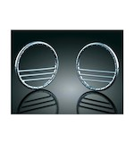 Kuryakyn Deco Front Speaker Grills For Harley Touring 1996-2013