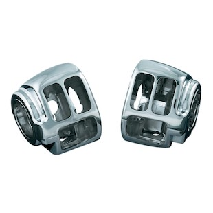 Kuryakyn Switch Housings For Harley Softail And Dyna 2011-2014