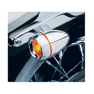 Kuryakyn Deuce Turn Signal Deep Dish Bezel For Harley 2000-2014