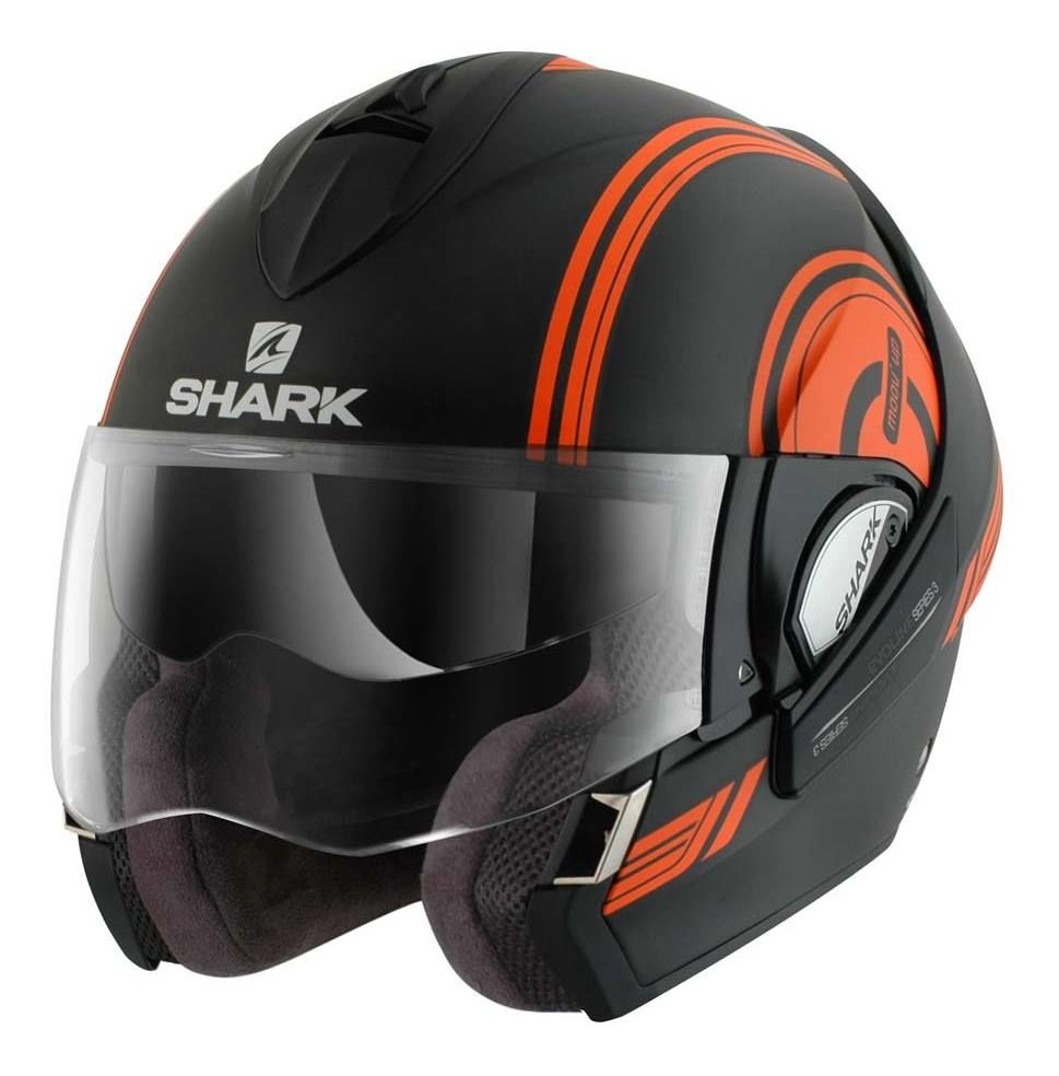 shark evoline 3 st moovup helmet size xs only revzilla. Black Bedroom Furniture Sets. Home Design Ideas