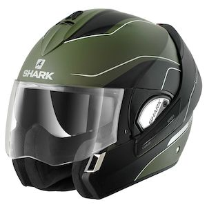 Factory Outlets Safety Silver Shark Pattern Full Face Motorcycle Helmets