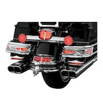 Kuryakyn Aerion LED Saddlebag Light Bars For Harley Electra Glide 1997-2013