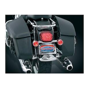 Kuryakyn Deluxe Bullet Rear Turn Signal Bar Kit For Harley Touring 1997-2008