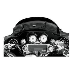 Kuryakyn 3 Pouch Windshield Fairing Bag For Harley Touring 1996-2013