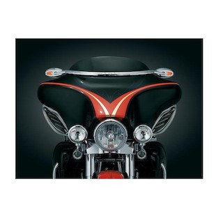 Kuryakyn Windshield Mounted Mirrors For Harley Touring 1996-2013