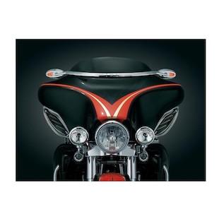 Kuryakyn Windshield Mounted Mirrors For Harley Touring 1996-2013