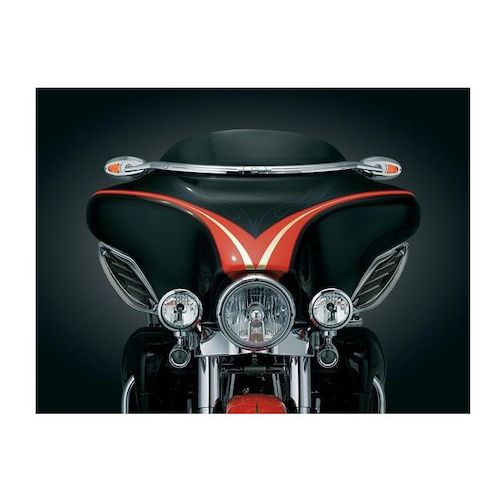 Kuryakyn Windshield Mounted Mirrors For Harley Touring
