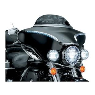 Kuryakyn LED Bat Lashes For Harley Touring 1996-2013