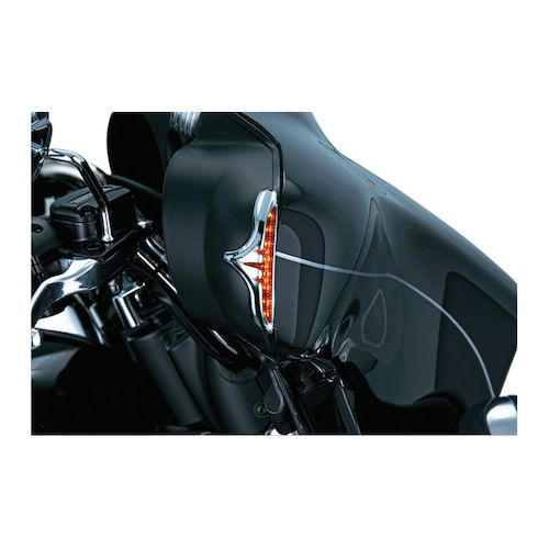 kuryakyn led fairing edge accent lights for harley touring. Black Bedroom Furniture Sets. Home Design Ideas
