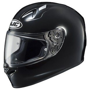 HJC FG-17 Helmet - Solid Black / XL [Blemished]